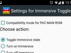 Immersive Toggle 1.3 Screenshot