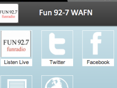 Fun 92-7 WAFN 2.0 Screenshot