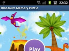 Fun Dinosaur Kids Memory Game 1.0 Screenshot