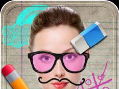 Fun Doodles in Photo Editor 2.6 Screenshot