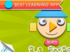 Fun Shapes - An interactive app with puzzle for children to learn about shapes. 1.0 Screenshot