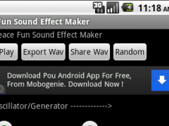 Fun Sound Effect Maker 1.07 Screenshot