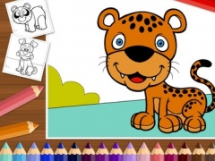 Funny Animals - Coloring Book for Little Boys, Little Girls and Kids - Free Game 1.0 Screenshot