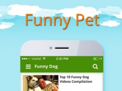 Funny Baby - dog, cat and baby have fun together video 1.0 Screenshot