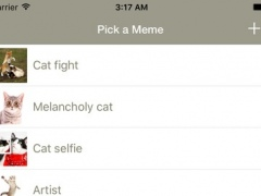 Funny Cat Make Memes - meme generator with funny cats, create your kitten memes 1.3 Screenshot