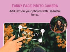 Funny Face Photo Camera 2.0 Screenshot