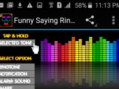 Funny Saying Ringtones Free 1.0 Screenshot