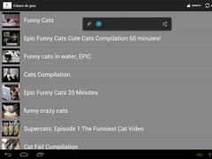 Funy cat Videos 1.3 Screenshot