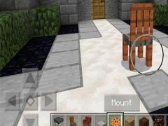 Furniture Chairs Mod MCPE 1.1 Screenshot