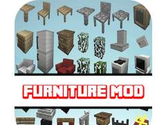 Furniture Mod For MCPE 1.0 Screenshot