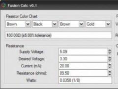 Fusion Calc 0.1 Screenshot