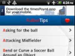 Futbol Tips Free 1.0.0 Screenshot