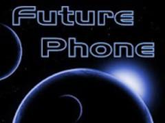 Future Phone Blue Theme Free 1.0 Screenshot