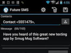 Future SMS Text Scheduler 1.4d Screenshot