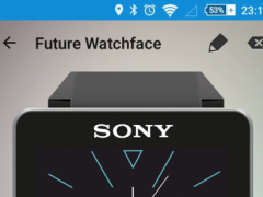 Future Watch face for SW2 Q7 1.0 Screenshot