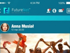 FutureNet your social app 3.35 Screenshot