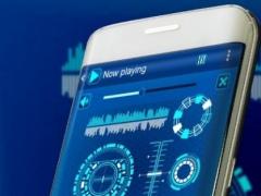 Futuristic PlayerPro Skin 2.0.0 Screenshot