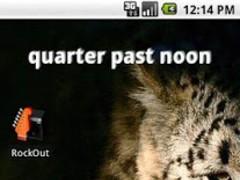 Fuzzy Clock Widget 1.2 Screenshot