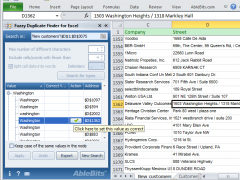 Fuzzy Duplicate Finder for Excel 3.5.3 Screenshot
