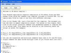 FX Batch Compiler  Screenshot