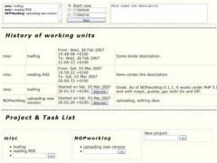 FXGAS webgame development framework 0.1.1 Screenshot