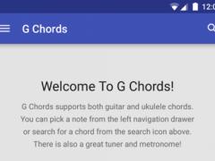 G Chords 1.4.1 Screenshot