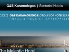 G&E Karamolegos S.A. Group of Hotels SANTORINI 1.04 Screenshot