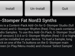 G-Stomper Fat Nord3 Synths Pck 1.2 Screenshot
