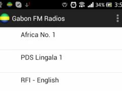 Gabon FM Radios 1.0 Screenshot