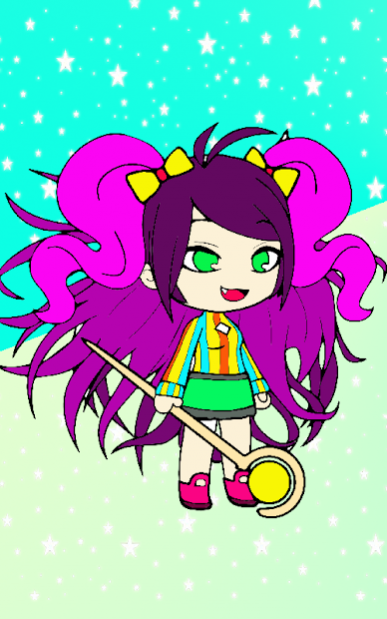 Gacha Coloring Book Glitter Color By Free Download
