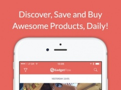 Gadget Flow - Discover, Save and Buy Awesome Products 5.2.2 Screenshot