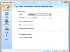 Gadwin PrintScreen 5.8 Screenshot