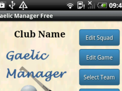 Gaelic Manager 1.80 Screenshot