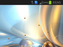 Galactic Flux Live Wallpaper 2 Screenshot