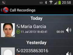 Galaxy Call Recorder 1.28 Screenshot