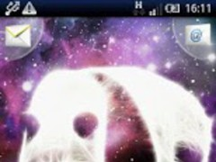 Galaxy Panda LWP Magic Effect 1.4 Screenshot