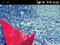Galaxy Rain Live Wallpaper  Screenshot