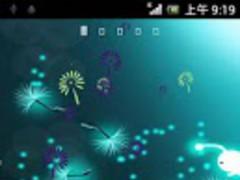 Galaxy S4 Dandelion LWP 1.1 Screenshot