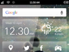 Galaxy S4 Dark Planets 1.0 Screenshot