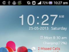 Galaxy s4 flip lock screen 2.0 Screenshot