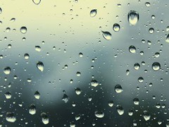 Galaxy S4 Raindrops 1.0 Screenshot