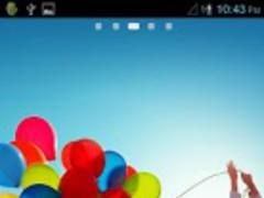 Galaxy S4 Theme Go Launcher EX 2.0 Screenshot