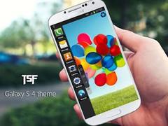 Galaxy s4 tsf shell theme 1.0 Screenshot