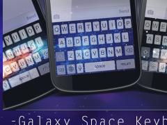 Galaxy Space Keyboard Theme 1.4 Screenshot