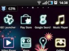 GalaxyS GO Launcher EX Theme 1.7 Screenshot