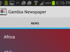 Gambia News 1.0 Screenshot