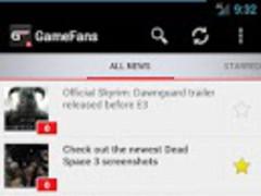 GameFans 1.5.6 Screenshot