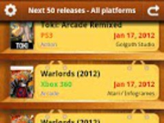 Games release dates EU 1.4.1 Screenshot