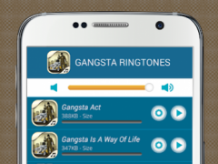 Gangsta Ringtones 1.1.0 Screenshot