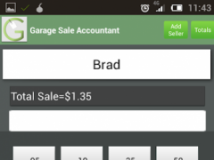 Garage Sale Accountant 1.4 Screenshot